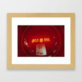 Sushi Me Sushi You Framed Art Print