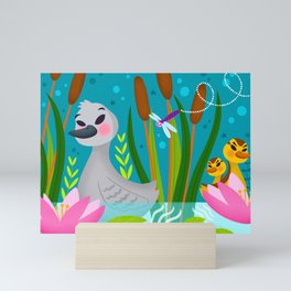 The Ugly Duckling Mini Art Print