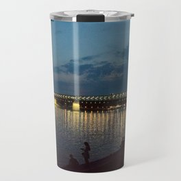 lights at night Travel Mug