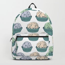Candy chocolate truffles sketch Backpack