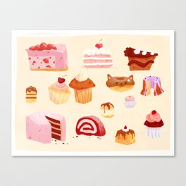 The Sweeter Things in Life Canvas Print