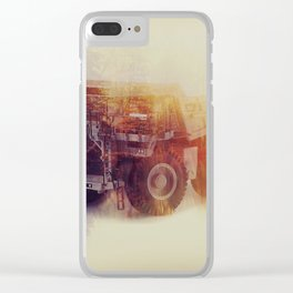 blue sky mining Clear iPhone Case