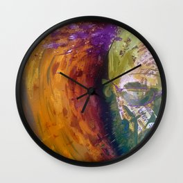 Heisenberg Uncertainty Principle Wall Clock