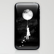 Midnight Traveler iPhone & iPod Skin