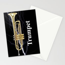 Shockingly Brilliant Trumpet  Stationery Cards