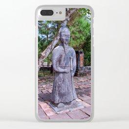 Vietnam, Hue: Emperor Khai Dinh tomb Clear iPhone Case