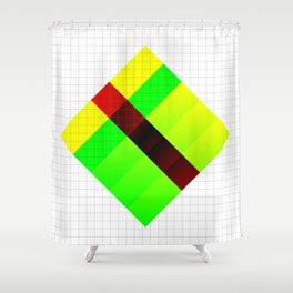 Vapor composition one Shower Curtain