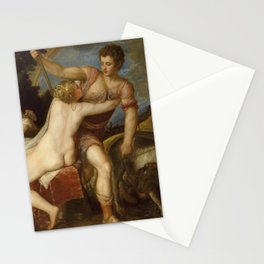 "Titian (Tiziano Vecelli) ""Venus and Adonis,"", circa 1555 Stationery Cards"