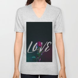 Tonight is Love Unisex V-Neck