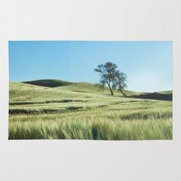 Lone Tree Photography Print Rug