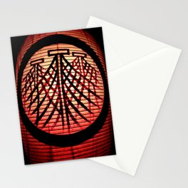 Paper Lanterns I Stationery Cards