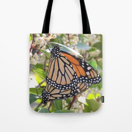 Love in the Air - Monarch Style Tote Bag