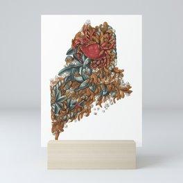 Maine (intertidal zone) Mini Art Print