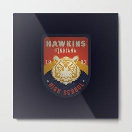 Hawkins High School Metal Print