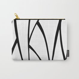 Modern Sweeping Line Art Print Carry-All Pouch