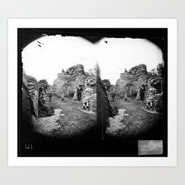 Stereoskop  Art Print