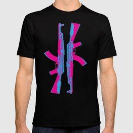 Neon AK-47 T-shirt