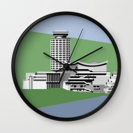 Soviet Modernism: Youth Palace in Yerevan, Armenia Wall Clock
