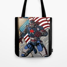 Iron Patriot Tote Bag