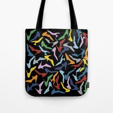 Shoes Black Tote Bag