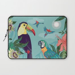 Toucan and Parrot Laptop Sleeve