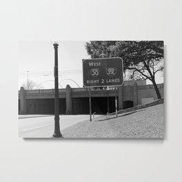 JFK Assassination Bridge Metal Print
