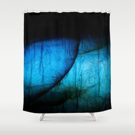 Labradorite Gem Shower Curtain