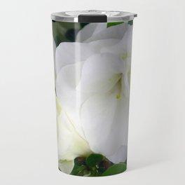 White Azalea Travel Mug