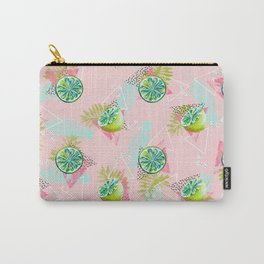 Tropical lemons party Carry-All Pouch