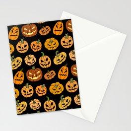 Jack o' Lantern Stationery Cards