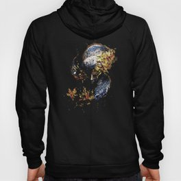 Venetian Mask Blue Devil Hoody
