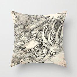 Chaos Divine  Throw Pillow