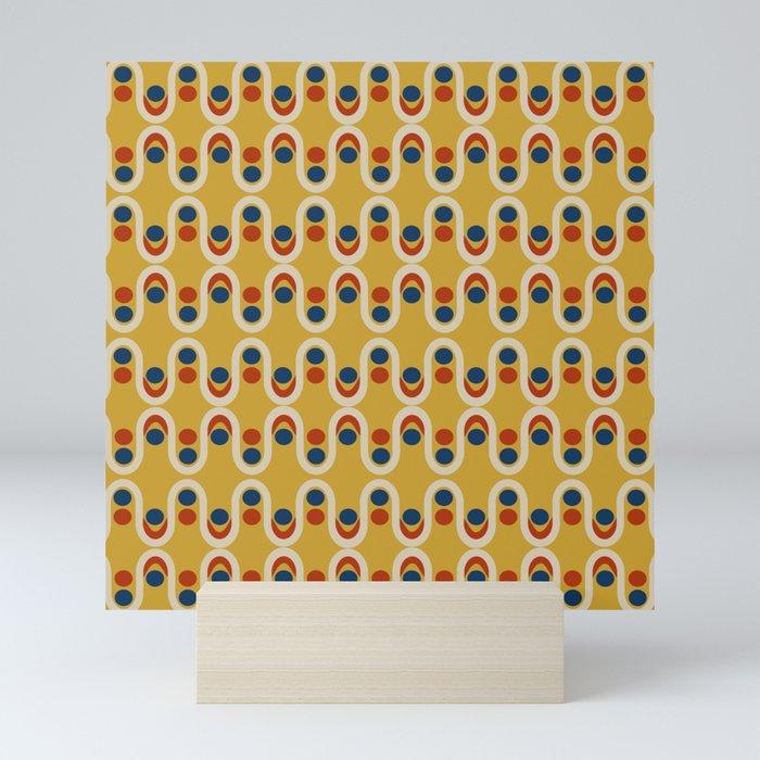 Steve Dots Circus Mini Art Print