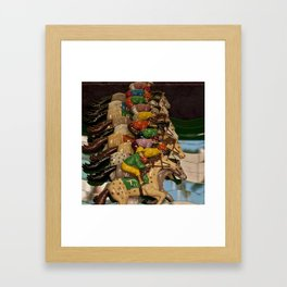 Derby Framed Art Print