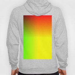 Rainbow red, yellow, and green ombre flame print Hoody