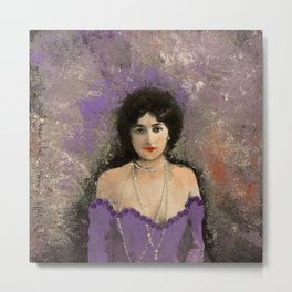 THE MOST BEAUTIFUL WOMAN Metal Print