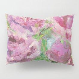 Delicate pink damask roses Pillow Sham