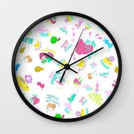 Tropical Yummy Wall Clock