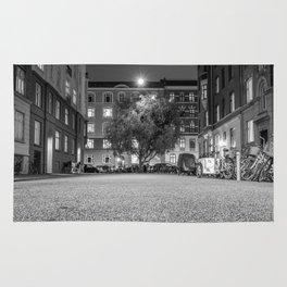 Urban Nature, Vesterbro, Copenhagen B&W Rug