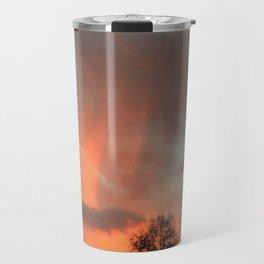 Stormy Sunset Travel Mug