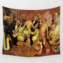 Metropolis No. 2 - Gross Stadt by Otto Dix Wall Tapestry