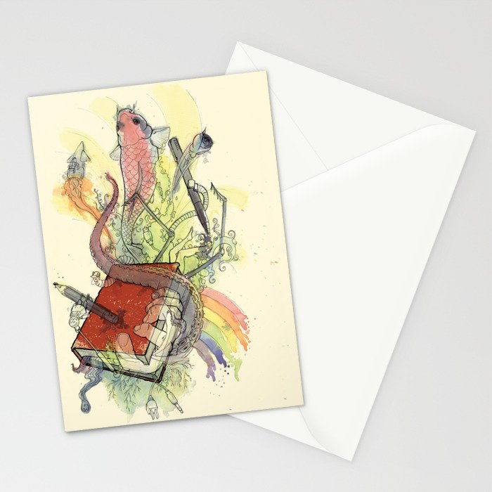 Sketchbook Life Stationery Cards