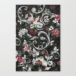 Baroque Bling Canvas Print