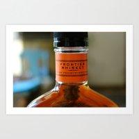whisky Art Prints featuring whisky by Marina Khamhaengwong