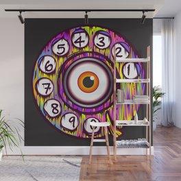 Eye Phone Wall Mural