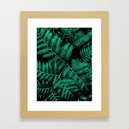 Mint Bracken Framed Art Print
