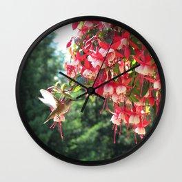 Humming Bird No. 2 Wall Clock