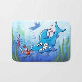 Sharks are Furious, Stop Finning! Bath Mat