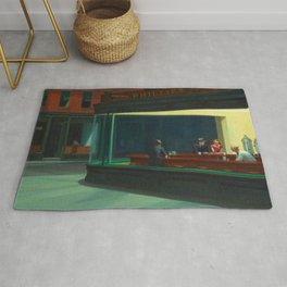 Nighthawks / Edward Hopper Rug