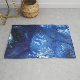 Abundant Blue Rug